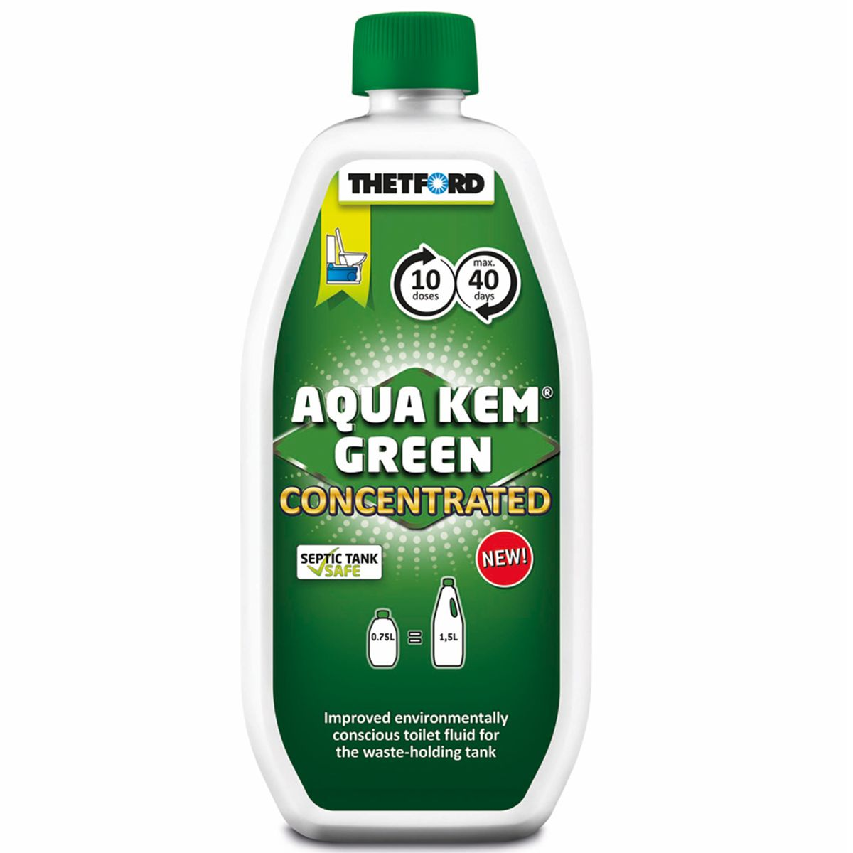 Thetford Aqua Kem Green Concentrate 750ml