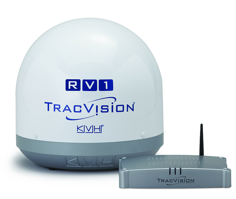 kvh rv1 satellite dome