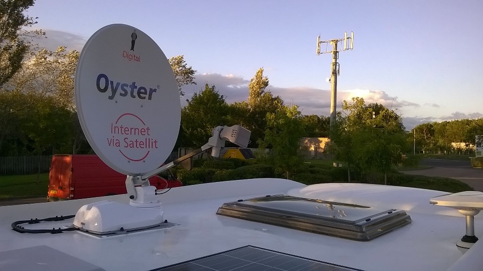 motorhome internet by oyster