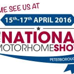 Fitting at National Motorhome Show Peterborough 2016