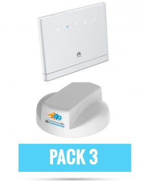 4G Roof Antenna & B315 Router Pack 3 Bundle