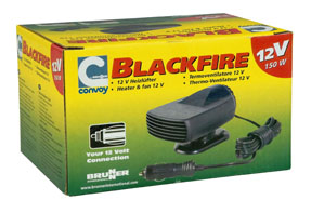 Blackfire heater for motorhomes and caravans