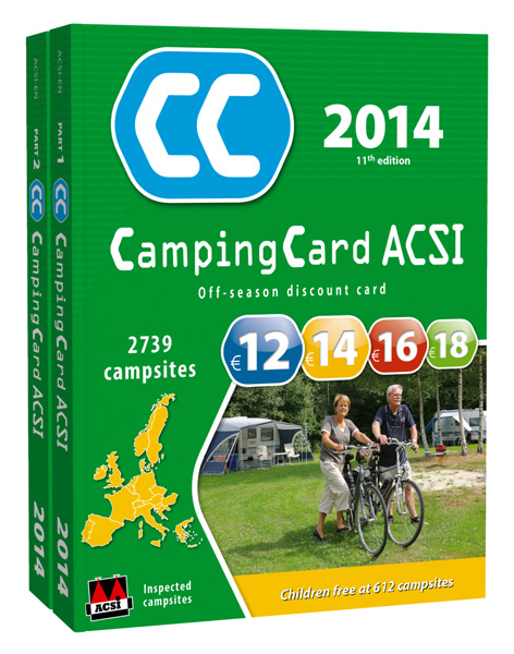 ACSI CampingCard UK 2014 Guide Book