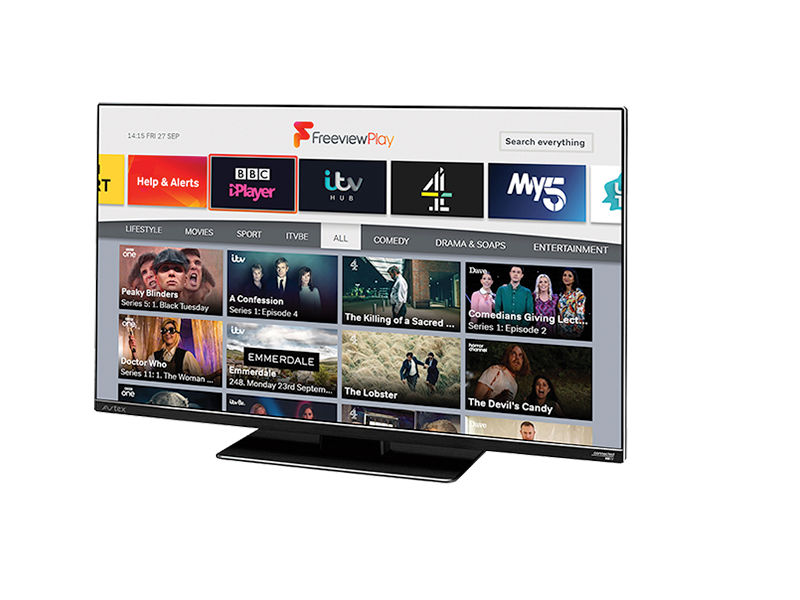 Avtex 24' Connected Full HD TV Freeview Play With Satellite Decoder