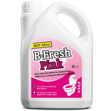 B-Fresh Toilet Cleaning Fluid - Pink 2ltr