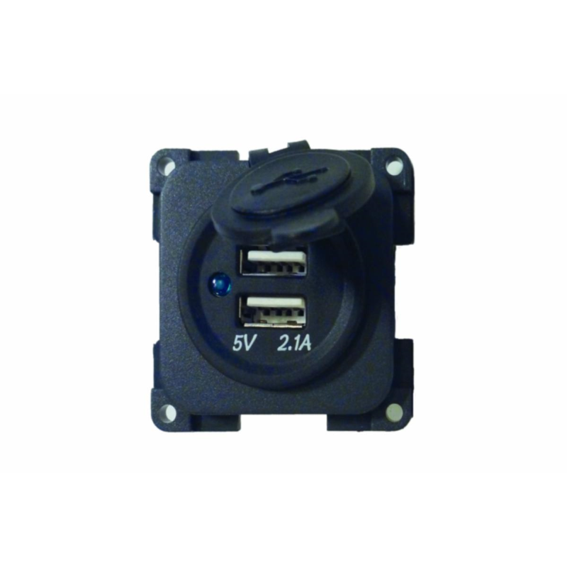 CBE Double USB Charger Socket