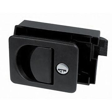 Cube Door Lock - Recessed Grip