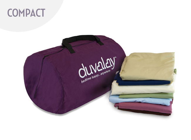 Duvalay Compact Two Season Sleeping Bag Bundle 2.5cm