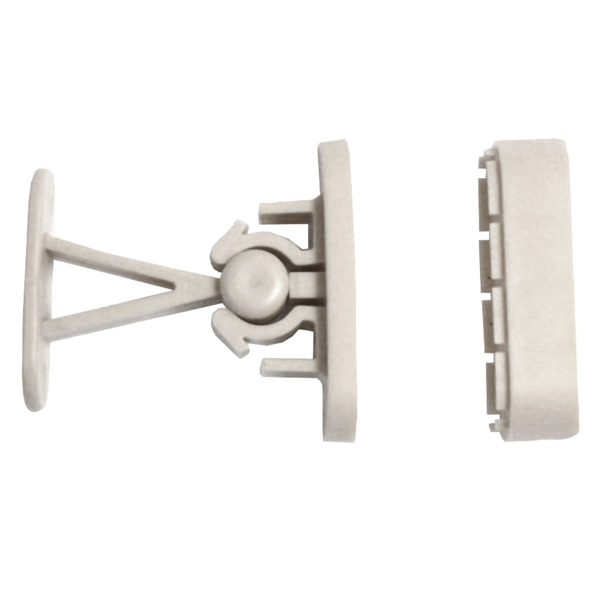 Viva Door Catch Kit White