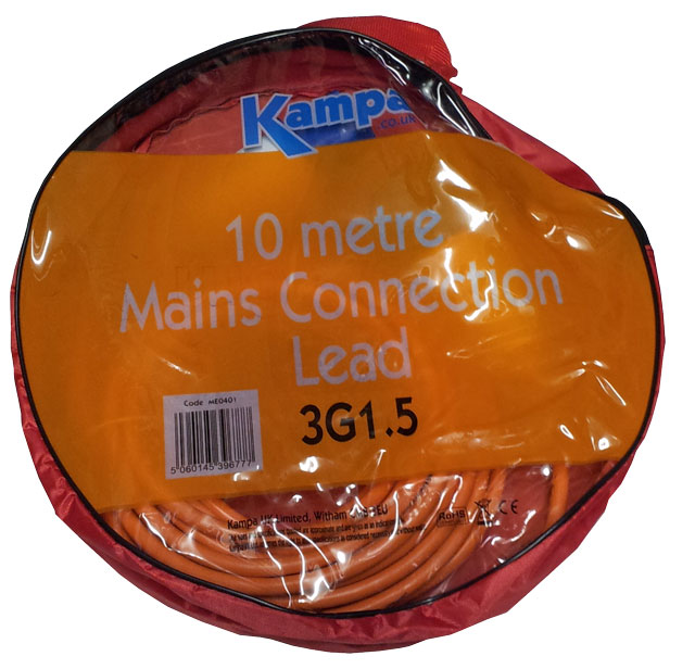 Kampa Mains Connection Lead 10m