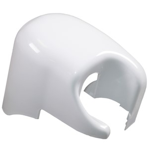 F45I R/H OUTER END CAP WHITE