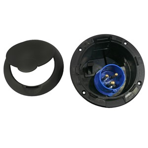 FAP Mains Inlet - Black