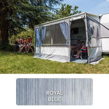 Fiamma Caravanstore ZIP  XL 500cm Royal Blue - Awning Only