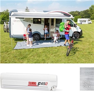 Fiamma F45S 450 Awning Titanium Deluxe Grey