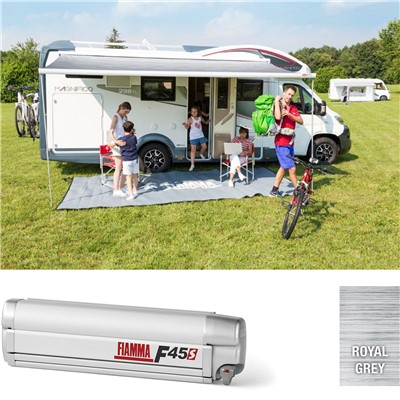 Fiamma F45S Titanium 230 Awning - Royal Grey