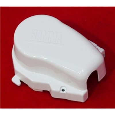 Fiamma F65S Left Hand End Cap White