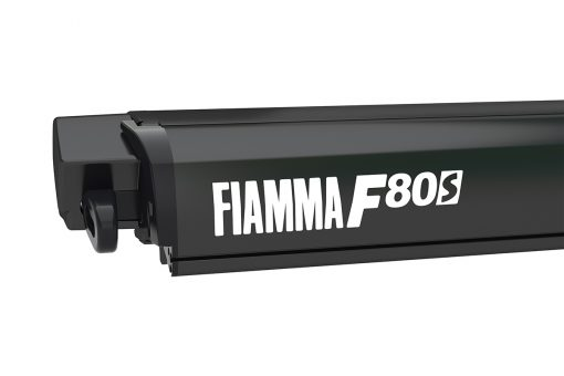 Fiamma F80s 4m Black Case - Royal Grey Canopy
