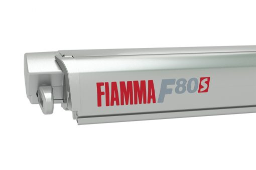 Fiamma F80s 3.7m Titanium Case - Royal Grey Canopy