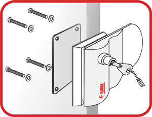 Fiamma Safe Door Installation Diagram