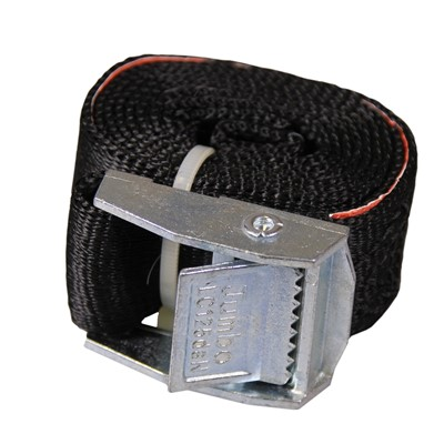1m Black retainer strap and Buckle