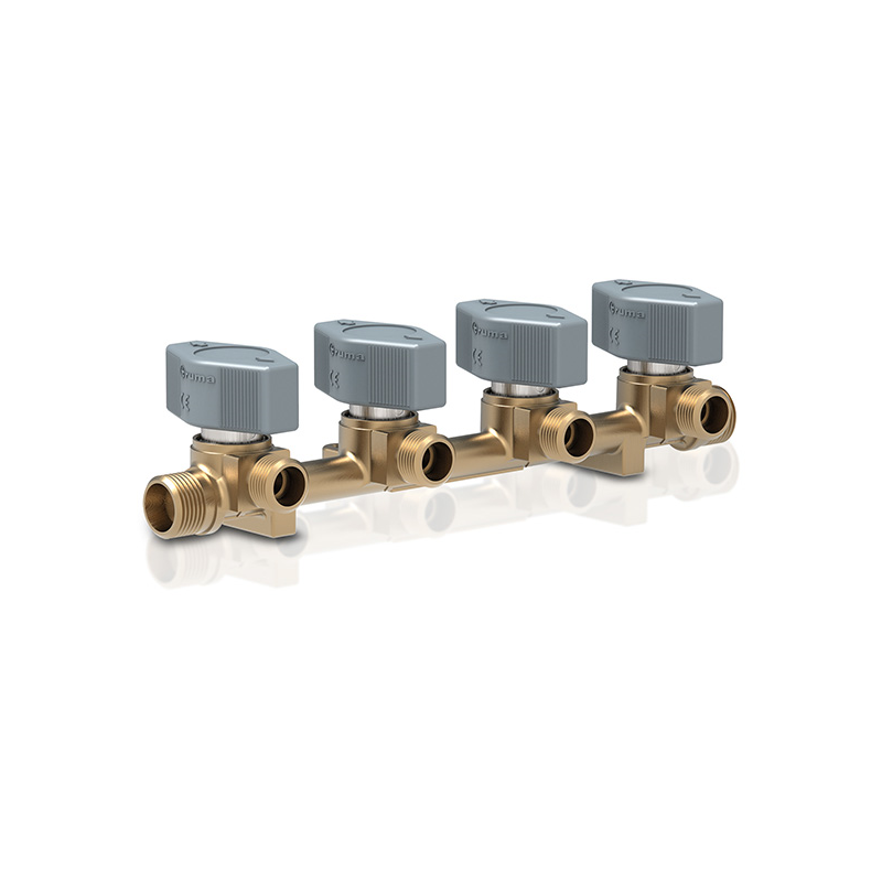 Truma VK4 8mm 4 way Manifold Gas Valve