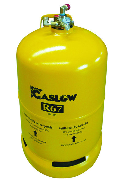 Gaslow R67 6KG Refillable Bottle No.1