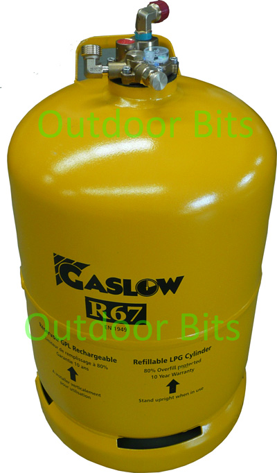 Gaslow R67 11KG Refillable Cylinder / Bottle No.2