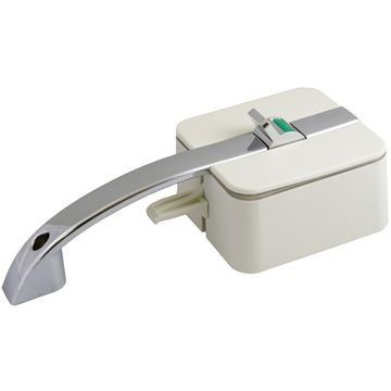 HorusTech Inner/Outer HSC Lock & Handle - White - Left Hand