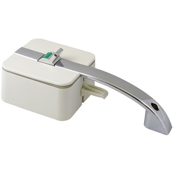 HorusTech Inner/Outer Zadi Lock & Handle - White - Left Hand