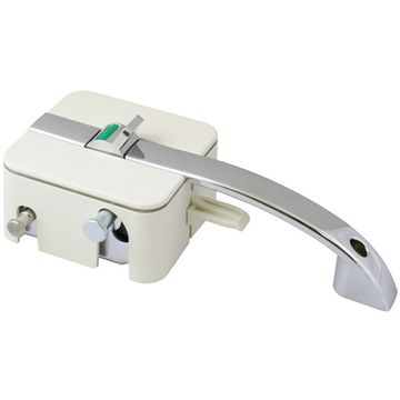 HorusTech Inner/Outer Zadi Lock & Handle - White - Right Hand