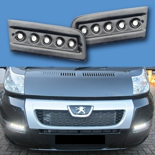 LED Pod Lighting Kit - Daytime Running Lights *Black & Textured* X250