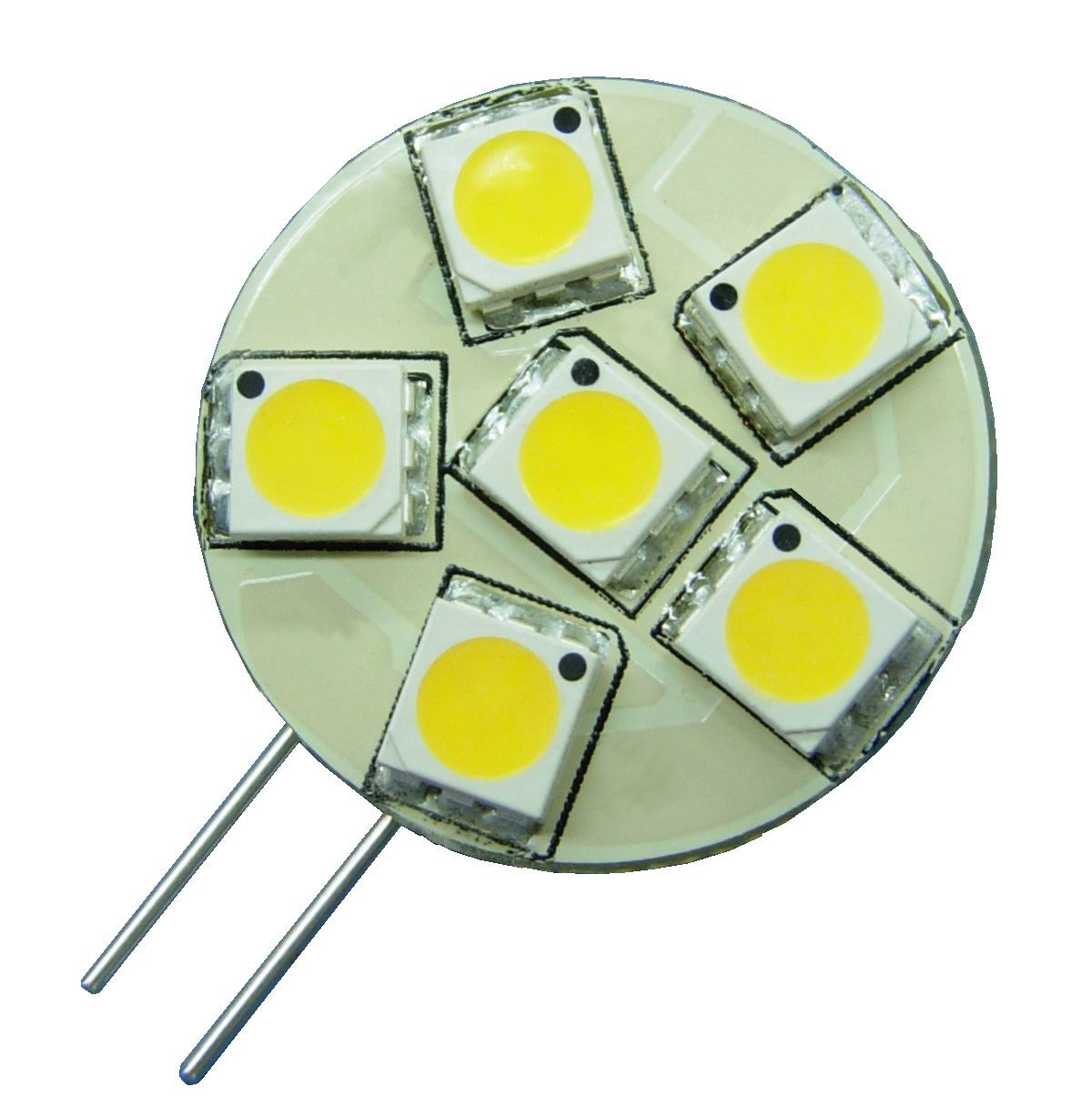 6 LED Side Pin G4 Cool White