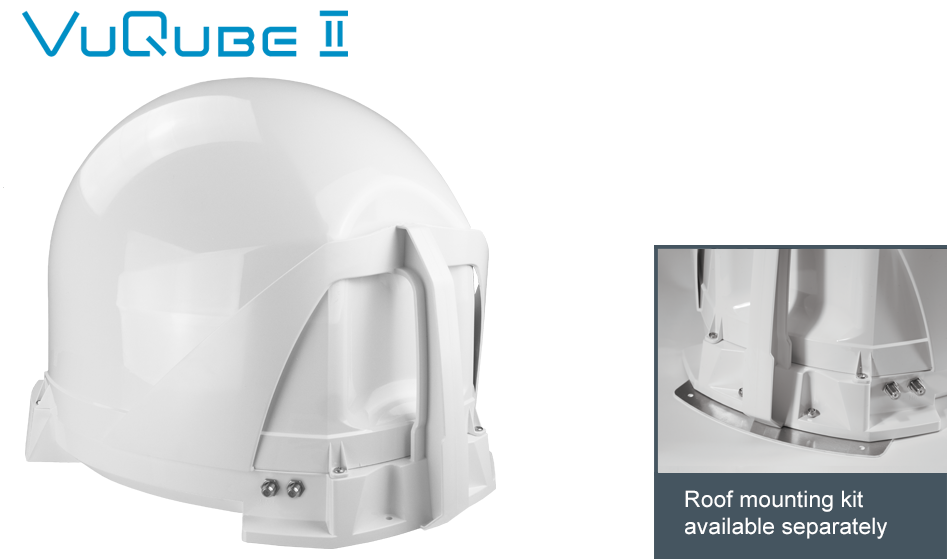 Maxview VuQube 2 Automatic Satellite System White