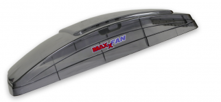 Maxxfan Deluxe Ventilation System in Tint (clear) Colour