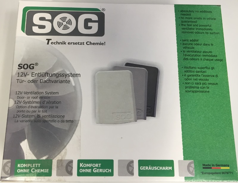 SOG System Kits for Motorhomes or Caravans Type B