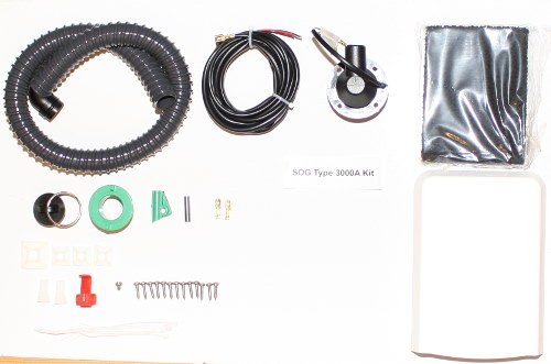 SOG Type 3000A Kit Contents