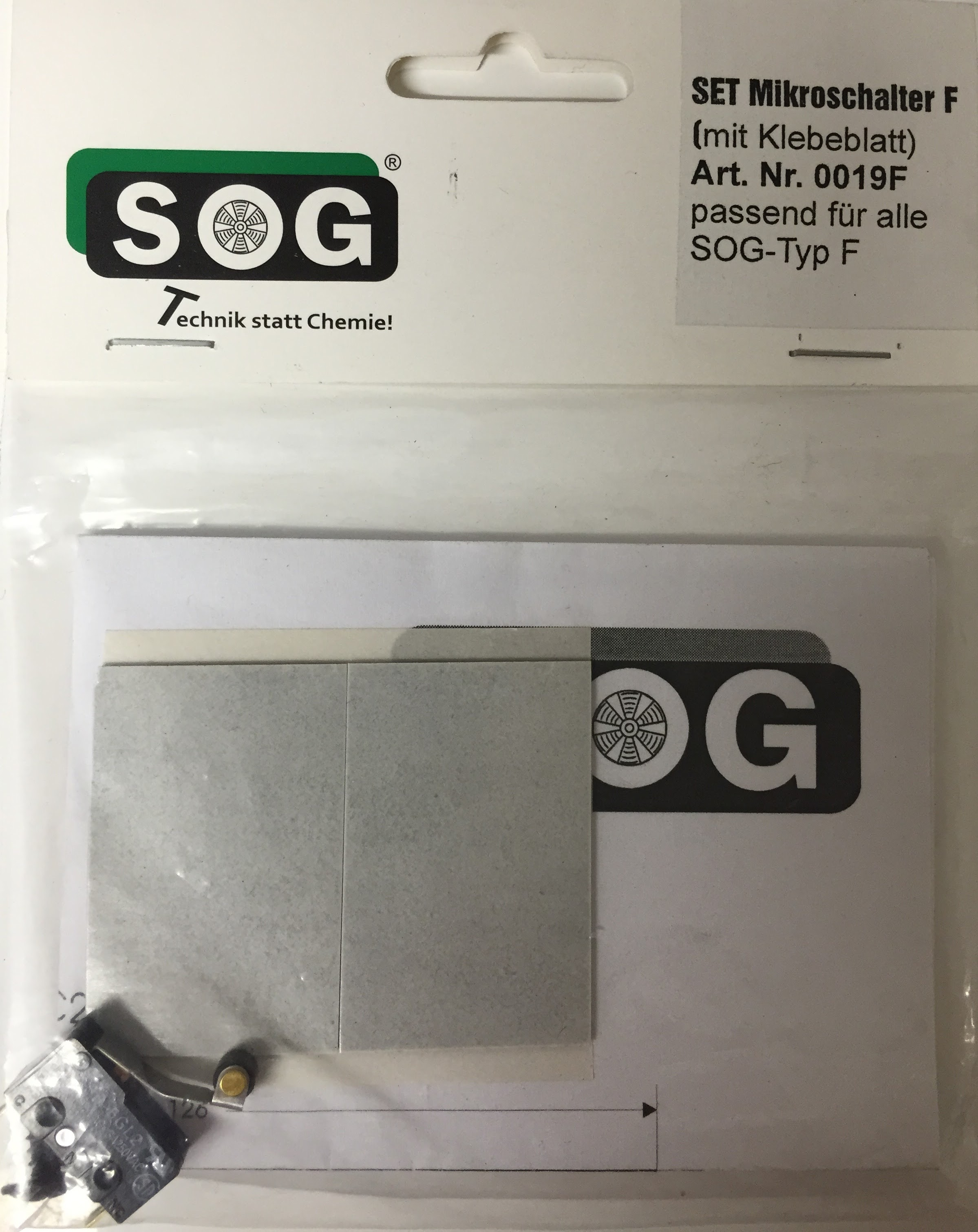 SOG Spare Microswitch Type F