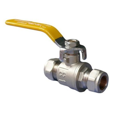 Inline Compression Ball Valve 22mm