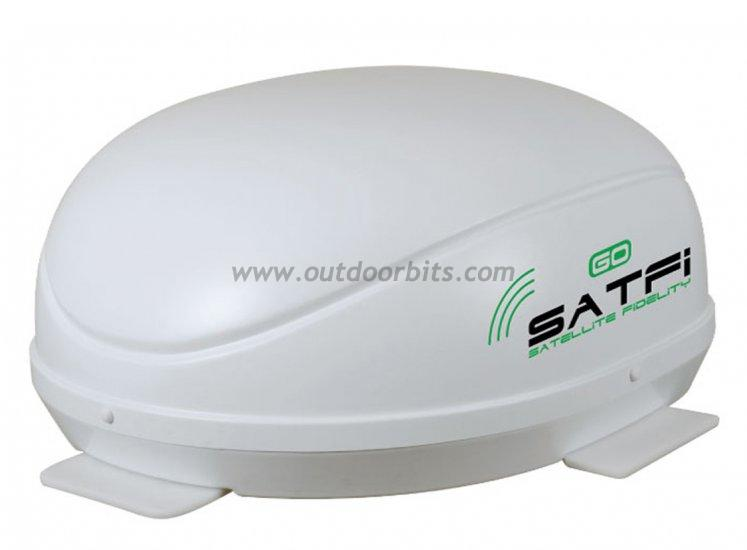 SatFi Go In Motion Satellite Dome Multi LNB