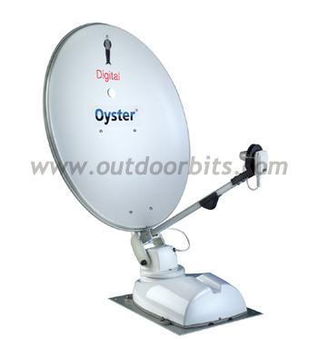 Oyster Digital 85cm Twin LNB Autoskew Satellite System