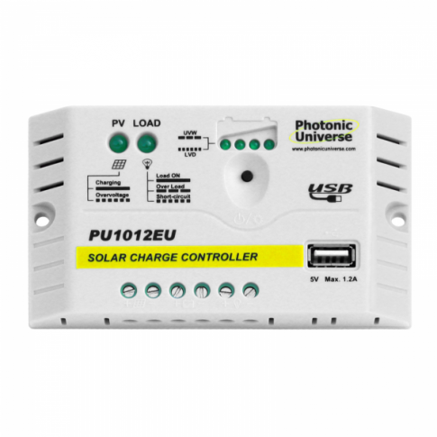 10A Solar Charge Controller 12v up to 160W with USB