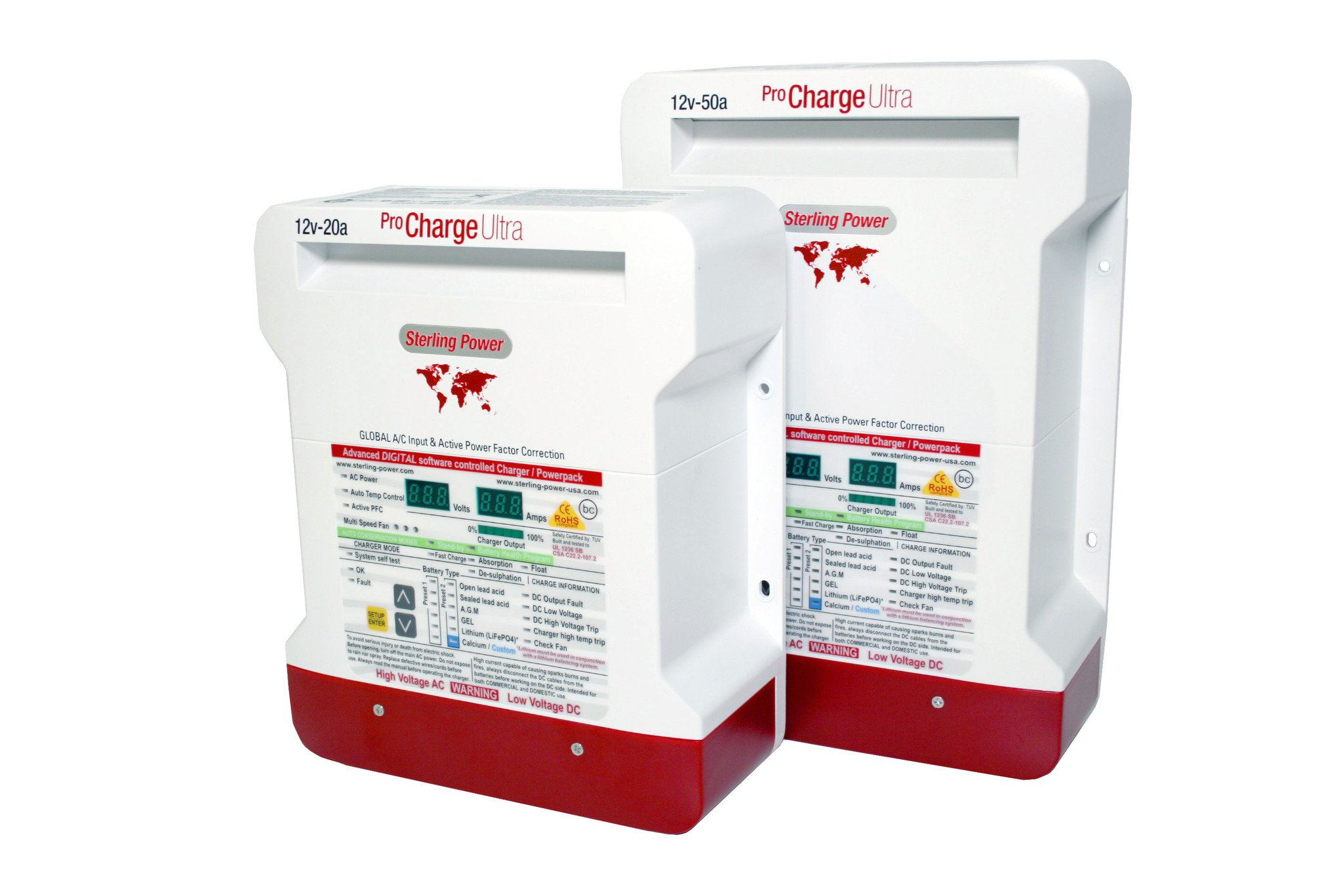 Sterling Pro-Charge Ultra Battery Charger 50A 12V
