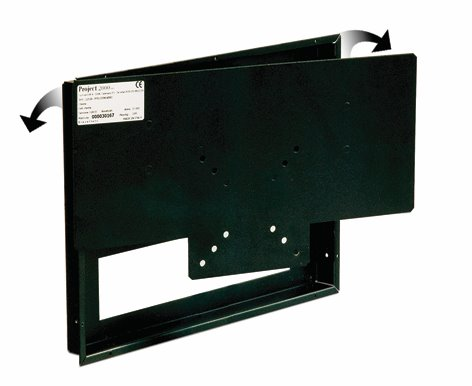 Recessed LCD Mount