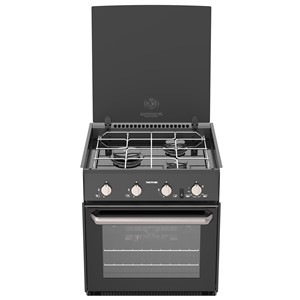 Thetford Triplex Oven And Grill - Black