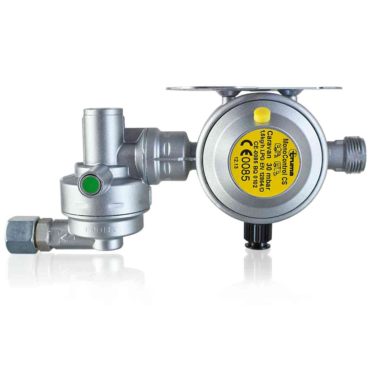 Truma Mono Control CS Vertical 30MBAR Regulator - Secumotion