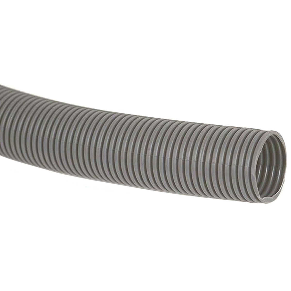 23mm Grey Convoluted Waste Hose (per Metre)