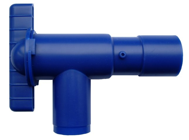 28mm Fresh Water Blue Drain Valve for Motorhomes and Caravans