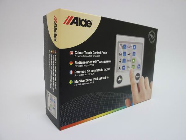 Alde Touch Control Panel upgrade plus Frame