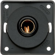 Berker 12v Single Pole Socket Anthracite