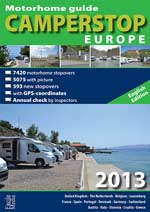 Camperstop 2013 Europe Guide Book